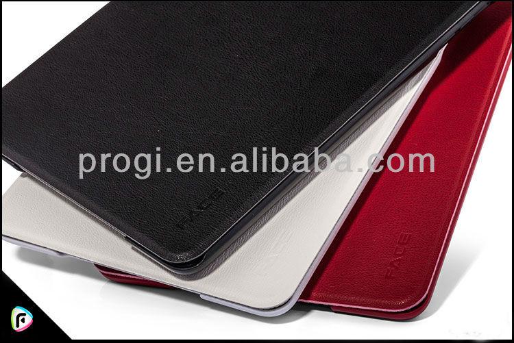 высокое качество flip кожаный чехол для ipad случае лицо для ipad мини случае