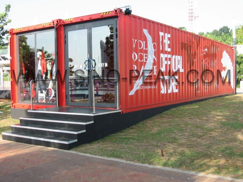 контейнер магазин, дом контейнера подвиёный контейнер