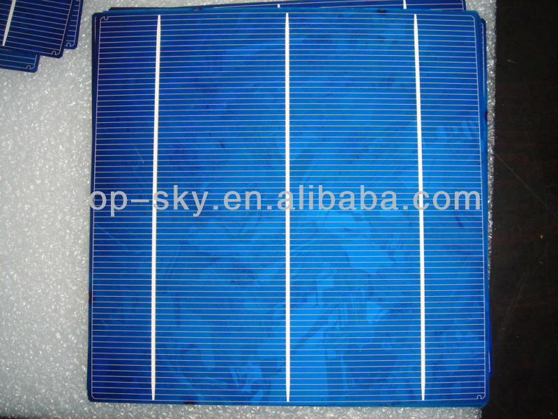 2014 Taiwan brand 156mmx156mm multicrystalline solar cell, 6inch 2BB high efficiency multi cell