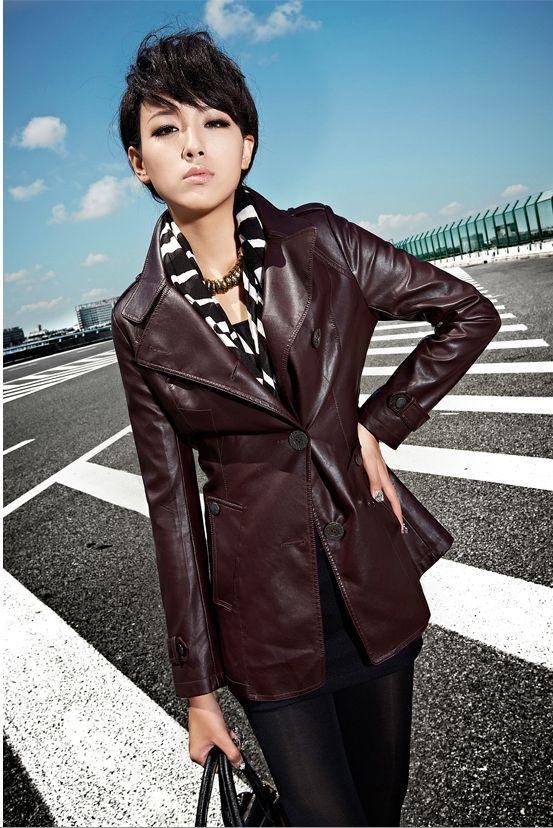 Женская одежда из кожи и замши OTHER  21F3705