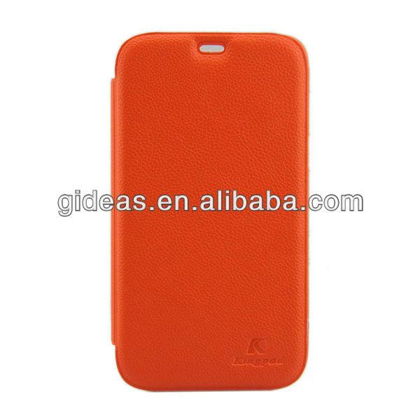Luxury Litchi Desk Phone Accessories Case for Samsung Galaxy Note 2 N7100