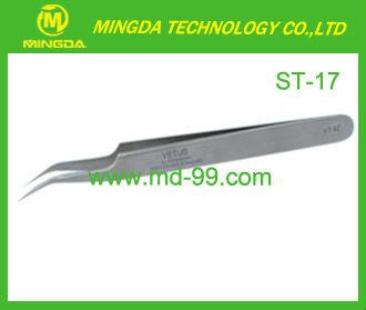 ST-17 High precision Stainless Tweezers/ESD Anti-static Tweezer