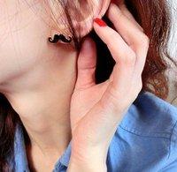 Серьги-гвоздики New style unique beard earring fashion jewelry R2024