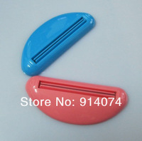 Free Shipping 2pcs Dispenser Squeeze Tube Squeezer Easy Toothpaste
