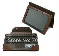 Чехол для планшета New tablet PC leather case cover skin for Asus Transformer Prime TF201 with keyborad case+Film+Stylus