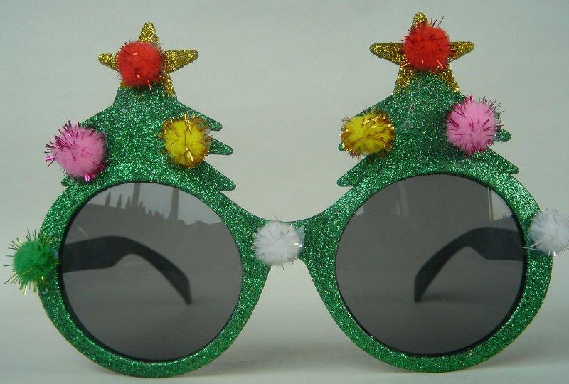 Christmas Tree Sunglasses - Buy Christmas Funny Glasses ...