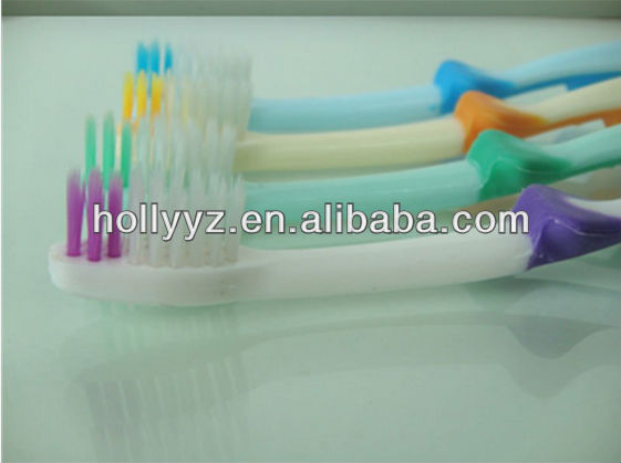 2014 hot sale professional design dental brush head colourful toothbrush baby