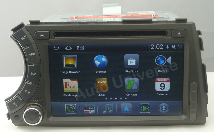 car dvd for ssangyong
