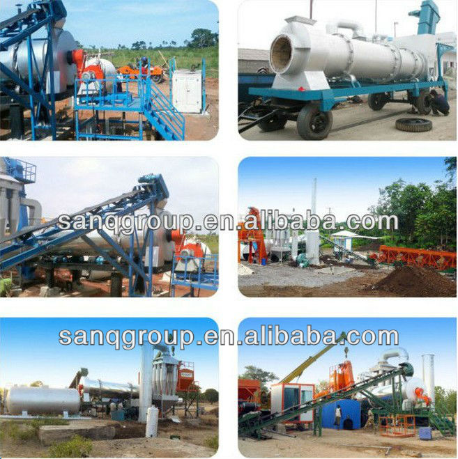 HXB800 50-64 t/h Asphalt Drum Mix Plant Asphalt equipment Asphalt Hot Mix Plant
