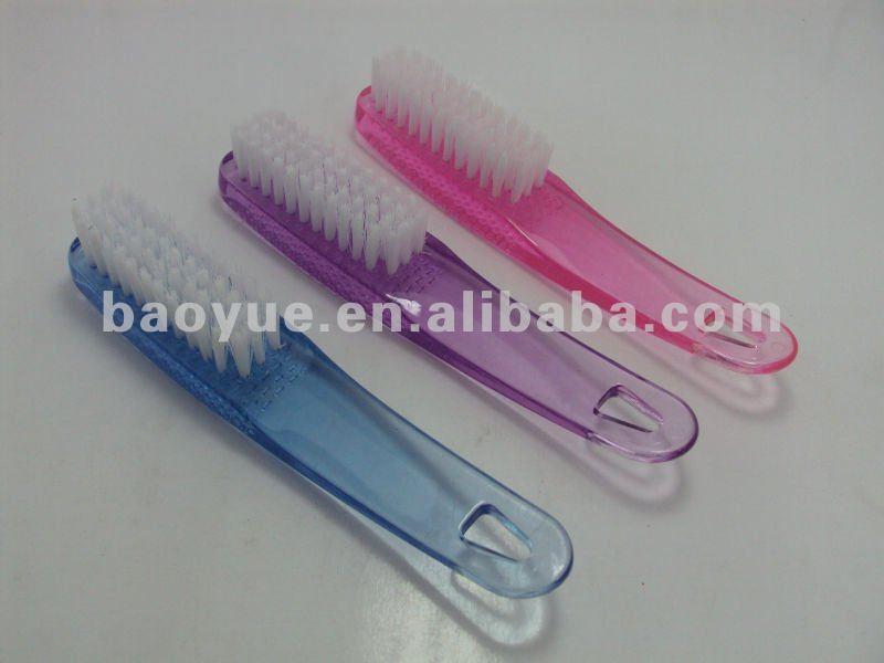 Cuticle Plastic Foot Nail Brush