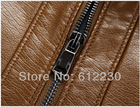 Мужские изделия из кожи и замши HOT! Brand men's fashion high quality sheepskin leather motorcycle jacket H1597