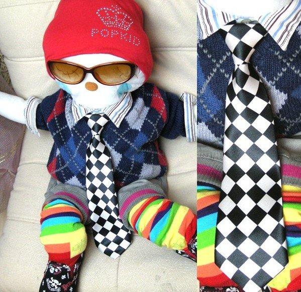 Модные галстуки для мальчиков