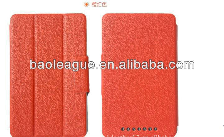 For google Nexus 7 PU leather Case