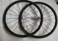 Велосипедное колесо Full Carbon 700C road bike wheelset 50mm rims in clincher
