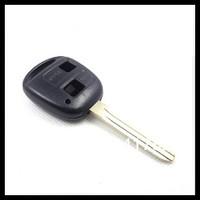 10pcs/lot для Тойота Прадо 2 кнопки дистанционного ключа пустой корпус только оболочки с лезвия toy43 0301002