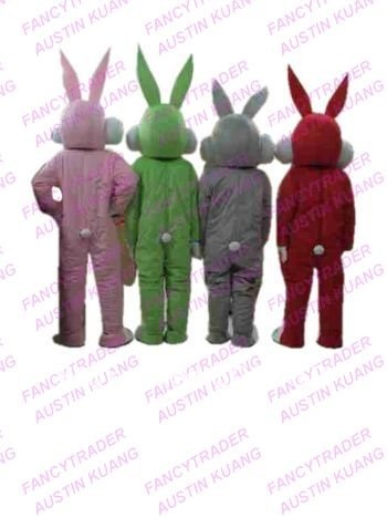 Bugs Bunny Mascot Costume Rabbit Mascot Costume Bunny Fancy Dress Costume Various Colors for Choice Free Shipping FT20039...JPG