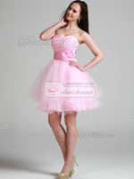 Пышное платье Lovely Princess Tulle Sweetheart Flower Homecoming/Sweet 16 Dresses