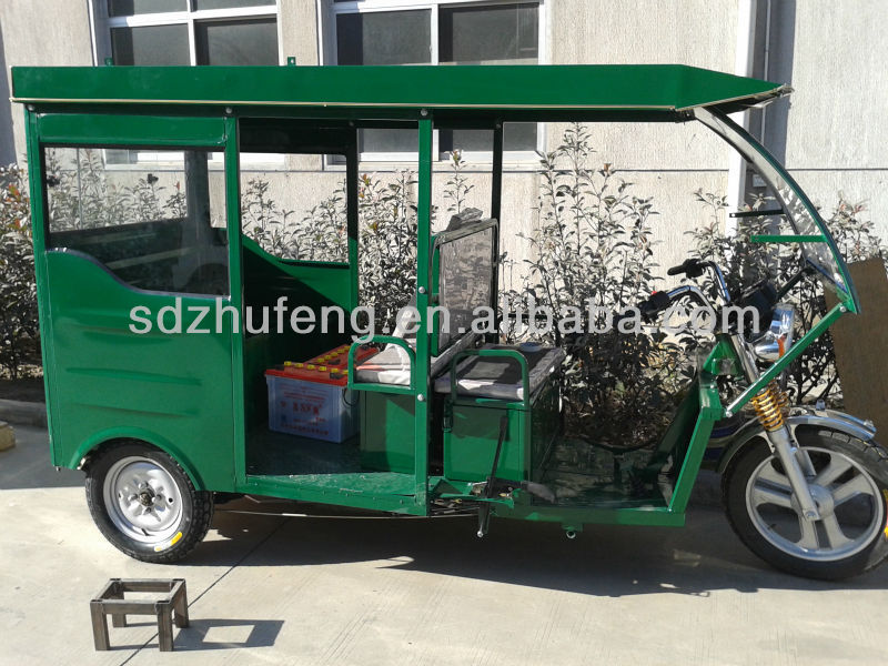 electric+petrol power electric tricycle for passenger
