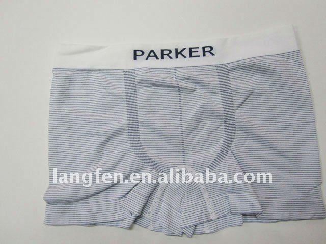 2013Sexy mens seamless underwear boxer