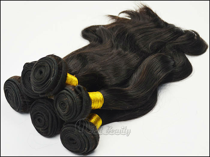 "100% Human Hair Long Hair Bulk, Wavy Hair Bulk,24"" Bulk Hair For Braiding"