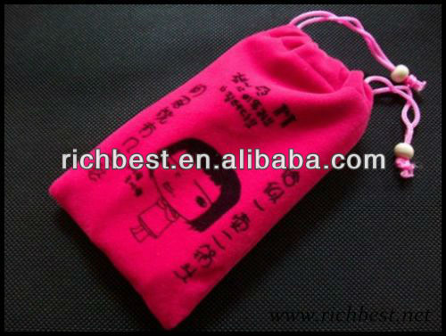 Small Velvet Bag ,Velvet Gift Bag,Velvet Bag for Phone