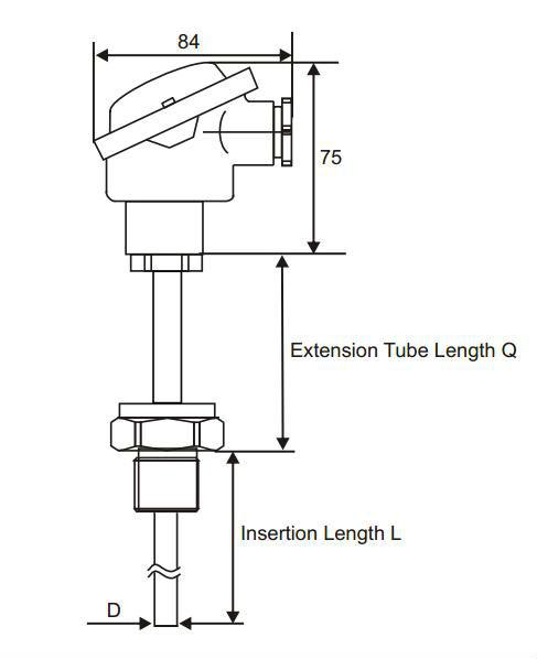 Universal integrated temperature transmitter LG200-K
