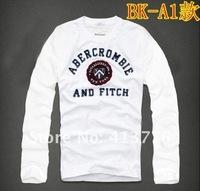 Мужская футболка 2012 Men's 99 style shirt long Sleeve cotton T-Shirt men S M L XL retail
