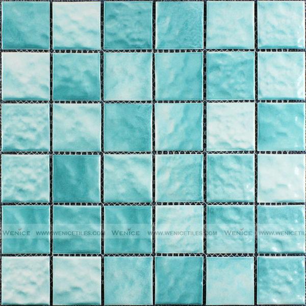 cramique turquoise vitrage textur mosaque - Mosaique Turquoise