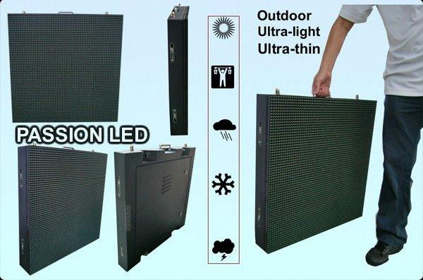 Super Slim Outdoor LED Display