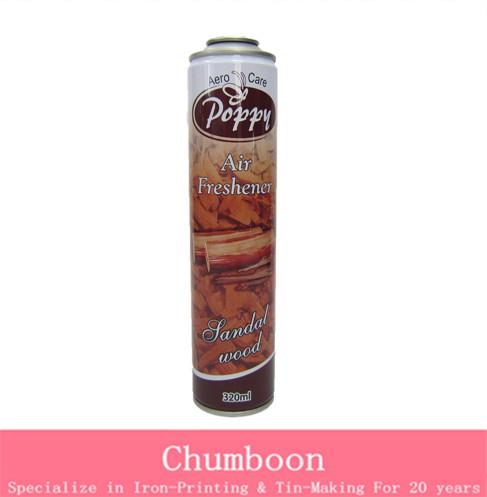 deodorant Spray Can with CMYK