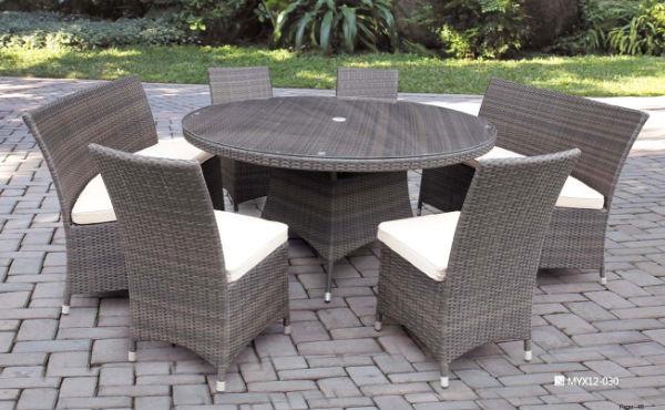 Pe rotin hot vente dark Brown seconde main meubles de jardin ...