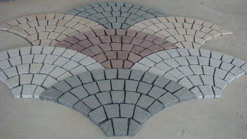 road Paving stone paver