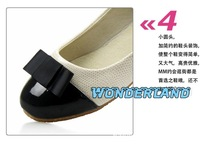 Водонепроницаемые мокасины для женщин 2012 autumn women shoes, women boat shoes, beige fashion woman shoes price 1pair