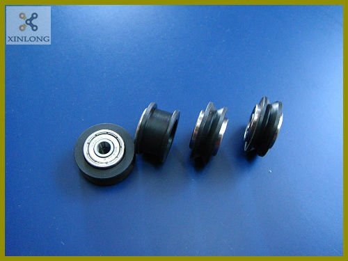 MakerSlide Dual Bearing V-Wheel Assy