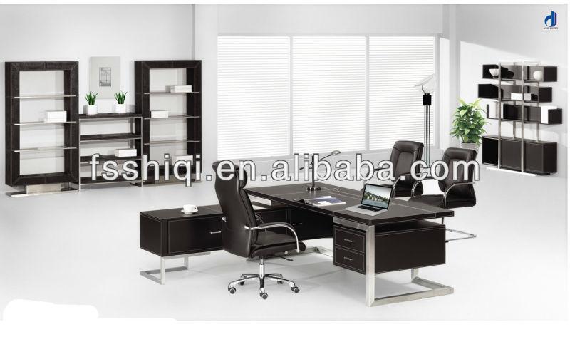 Mdf muebles de oficinamoderno escritorio ejecutivo( f 07)Mesa de