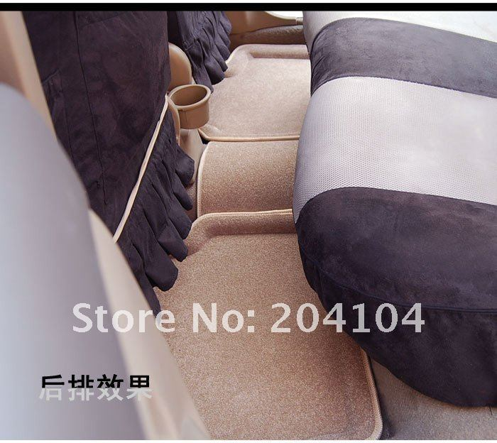 wholesale high quality! Skoda Superb waterproof 3D suede car mats car carpet 3color