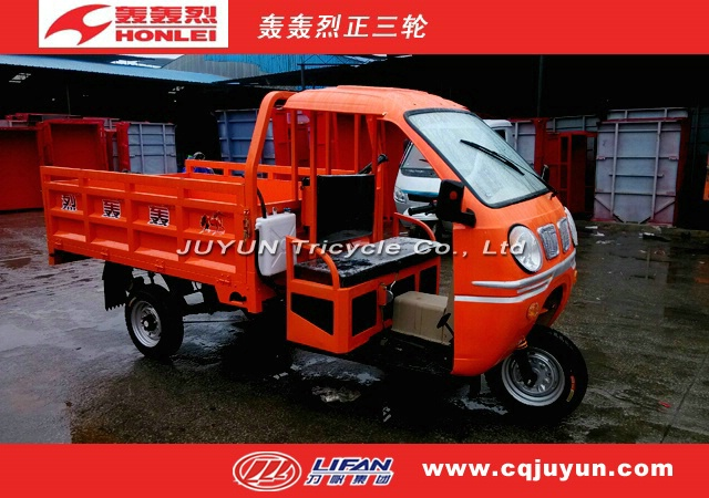 heavy loading Tricycle in 2014/Semi Cabin Cargo Tricycle HL150ZH-AS05