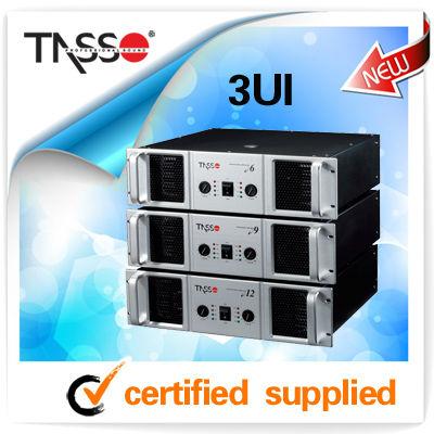 TASSO Pro sound bridgeable pro Power Amp 2*1000W (CE,RoHS)