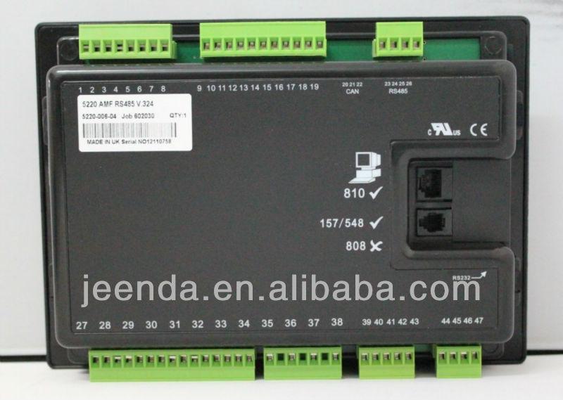 Deep Sea Generator Controller 5220,deep sea electronics 5220,deep sea 5220,deep sea genset controller