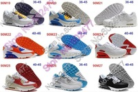 Wholesale 2012 Men Running Shoes New Design 90 Max Basketball Sneakers Men Sport Trainers VT Free Shipping Size40-46