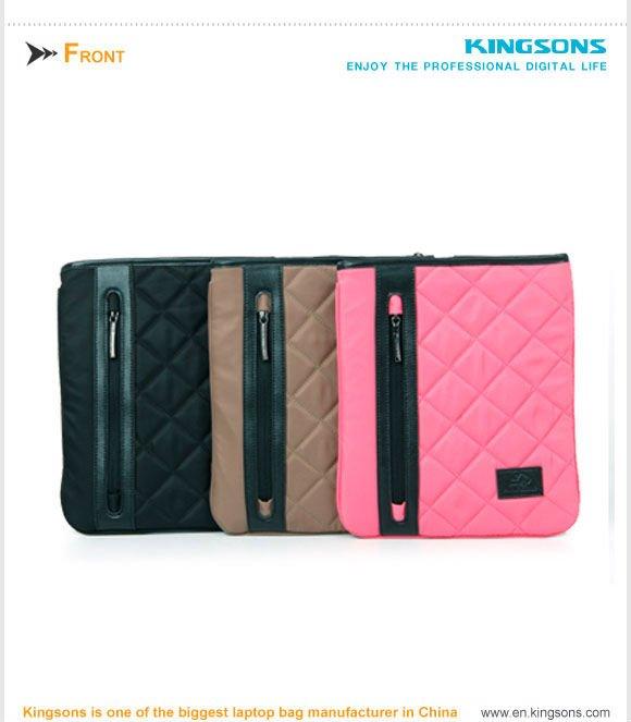 New arrival! complex nylon cheap laptop sleeve, universal sleeve for Ipad design