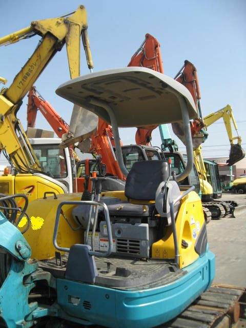 Mini excavator prices for USED KUBOTA