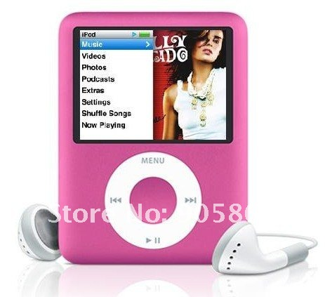 "8GB Slim 1.8""LCD MP3/MP4 Radio FM Player+Free Ship&Gift"