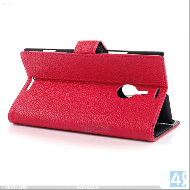 Wallet leather case for nokia lumia 1520