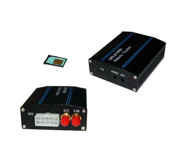 Sim Card GPS Tracking Device For Vehicle