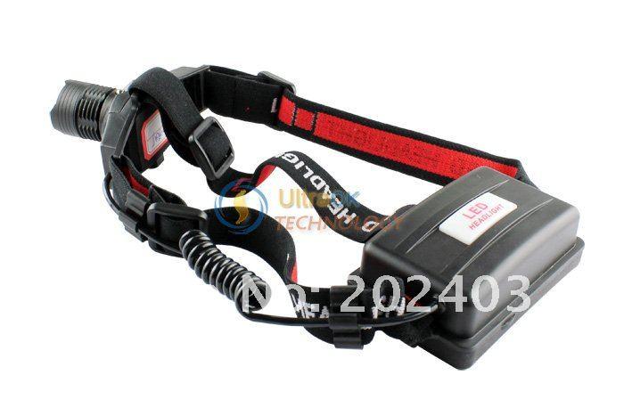 Лампа для головы CREE XP-G R5 LED Headlamp Adjustable Focus 650 Lumens for camping