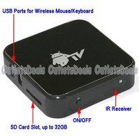 Телеприставка Google Android 4.0, Google Box, TCC8801 1.2ghz DDR2 512 2 HDMI 1080P usb2.0 SD WiFi RJ45 X1-801B