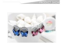 NeoGlory сделано с элементами кристалла swarovski Оден горный хрусталь шпилька Серьги ювелирных изделий подарок моды новый