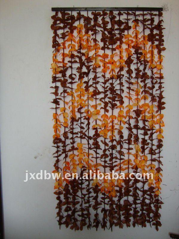 Folha de plástico de porta talão cortina em Cortinas de Casa ...