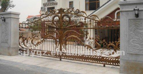 2013 The luxury main indoor iron gates